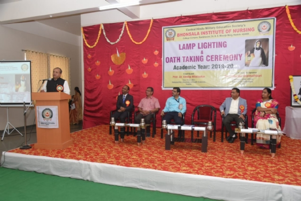 Lamp Lighting and Oath Ta